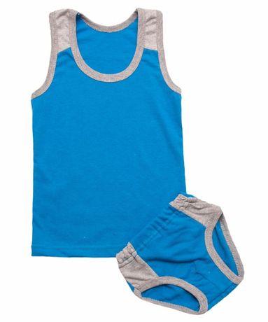 Комплект белья для мальчика, комплект трусы+майка, детский комплект