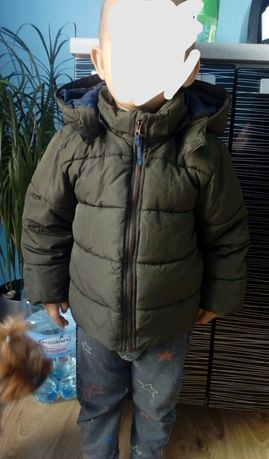 Kurtka zimowa H&M Khaki