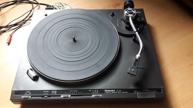 Gramofon Technics SL-B3 uszkodzony