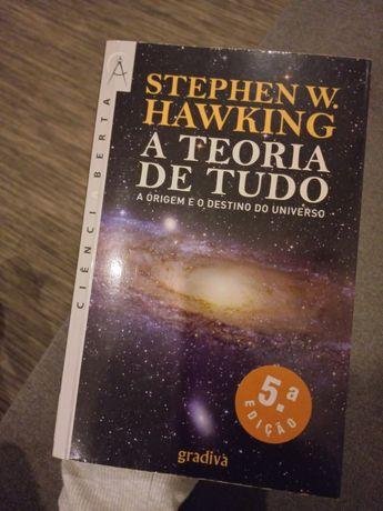 """Livro """"a teoria de tudo"""""""