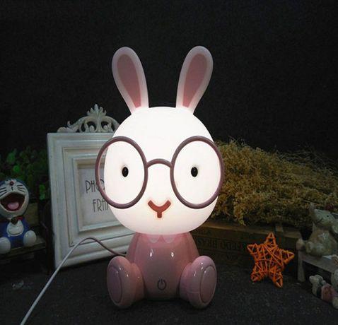 Lampka nocna LED dzieciecy pokój, spokojny sen