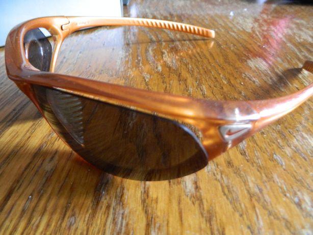 Nike okulary oryginal pomarańczowe