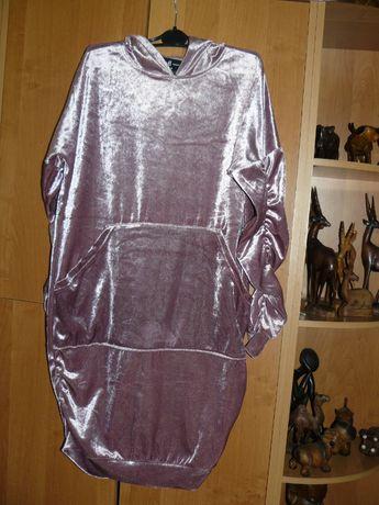 Sukienka Reserved S M Róż Welur jNowa Okazja Hit