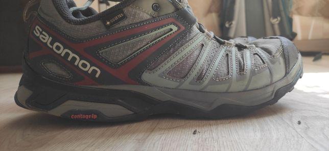 Кроссовки Salomon 46р, Nike. Беговая обувь. Спортивная обувь.