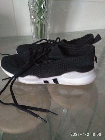 Тканевые кроссовки на подростков, размер 38 Китай
