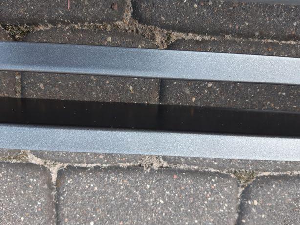 Kratka kominkowa kratki 80 cm. (77.5) x 6 cm. (3.2) z wkładem.