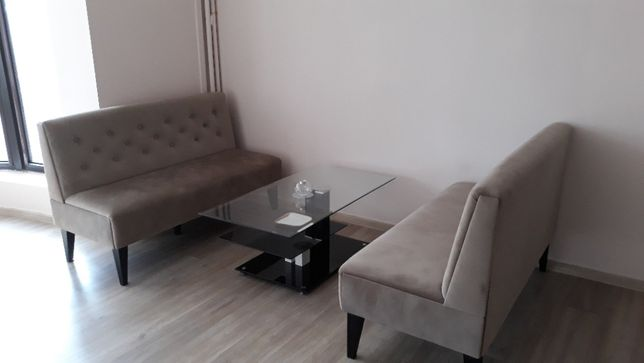 Stoliki salonowe prostokątne metal & glass