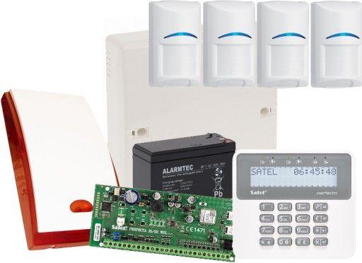 Alarm, Monitoring, Powiadomienie, Sterowanie, Podgląd, Ochrona.