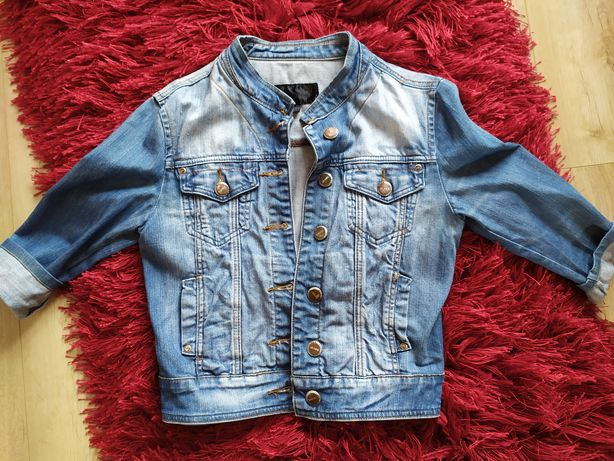 Kurtka jeansowa katana M