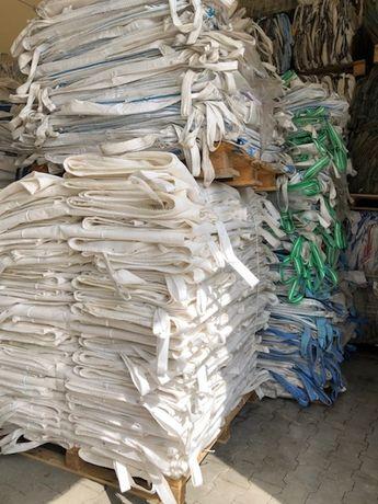 Big bag wysyłka 10 sztuk bigbagi 500 kg 98x98x107 cm