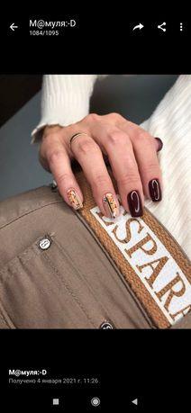 Маникюр педикюр наращивание ногтей дизайн гель-лак шеллак