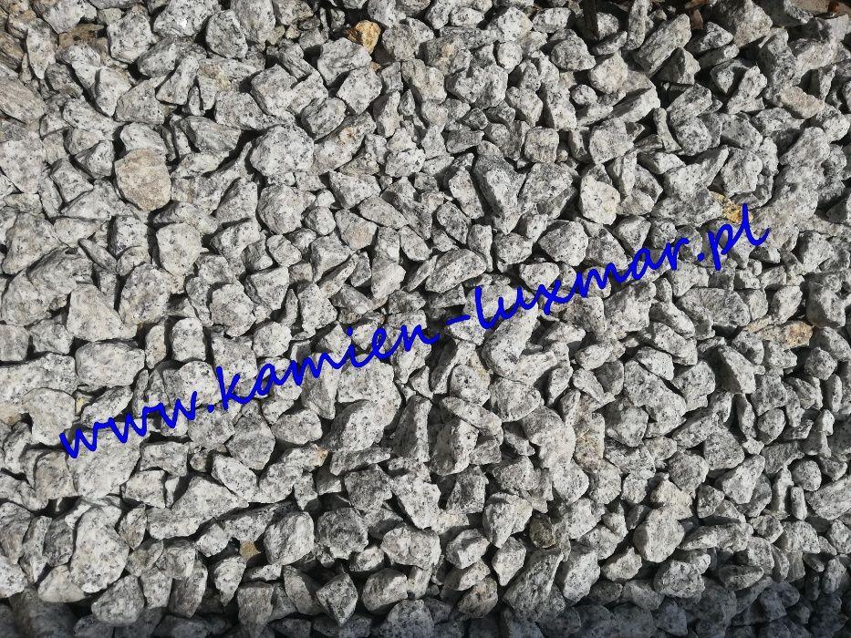Grys granitowy szary,kamień ogrodowy 16/22 mm/bardzo ładny Tłuszcz - image 1