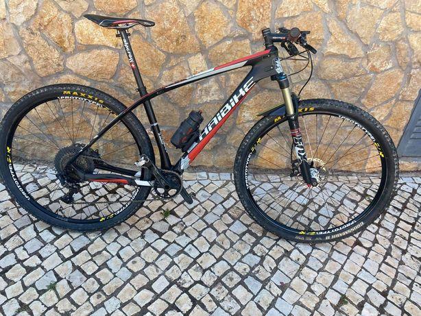 Bicicleta btt haibike carbono 17