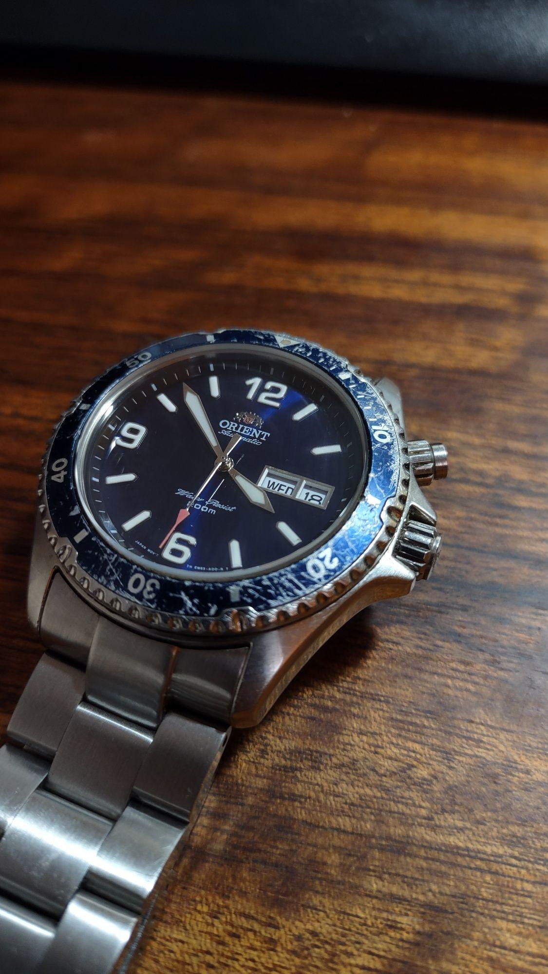Szafirowe szkło do zegarka Orient MAKO i RAY