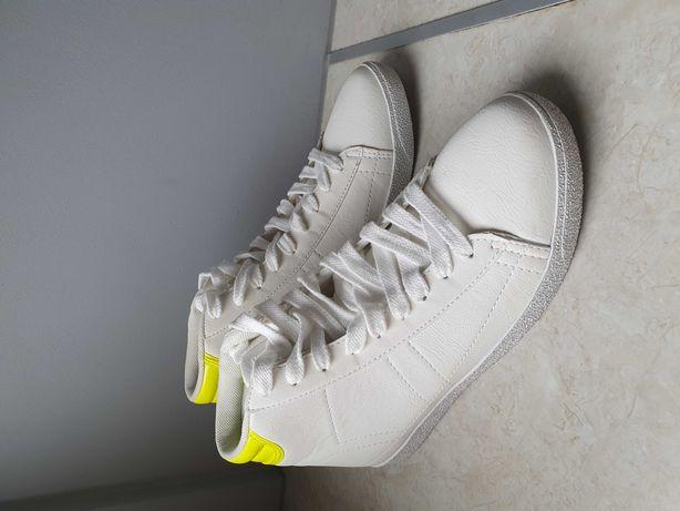 nowe buty HOUSE białe adidasy 38
