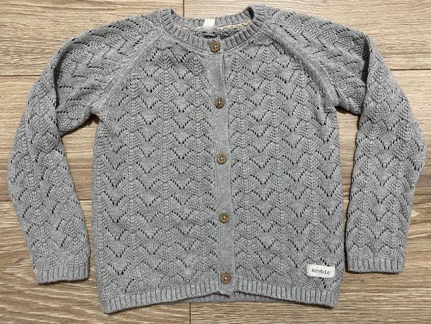 Newbie raz zalożony sweterek r.98/104
