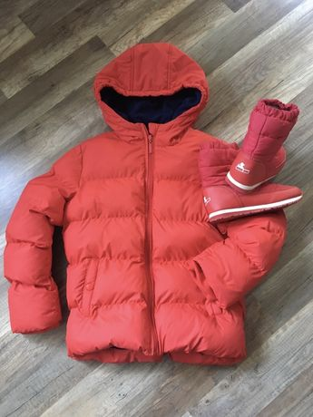 Fribbo kurtka czerwona :) 134/140