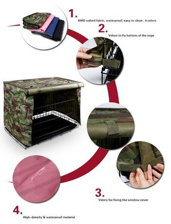 Cobertura para Crate/Jaula