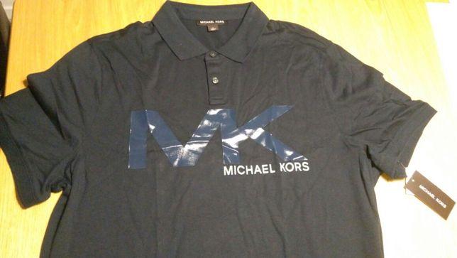Koszulka polo Michael Kors ładna aplikacja XL