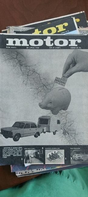 Motor egzemplarz kolekcjonerski Fiat 125