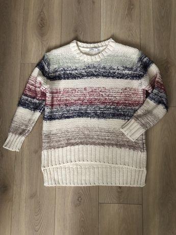 Sweter Zara knit rozm S