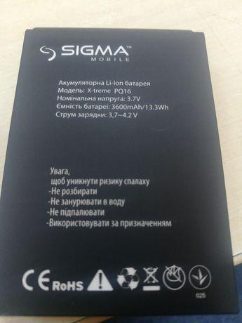 Продам ак-ры на Sigma IP67, IT67, Comfort 50 Slim, Light, PQ15, PQ16