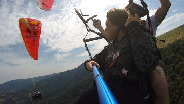 Voucher na lot paralotnią z najwyższego szczytu Beskidów