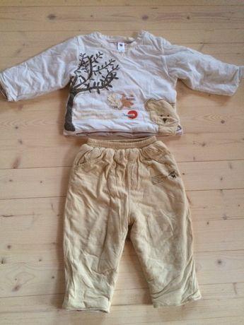Conjunto de roupa inverno para bebe de 18meses