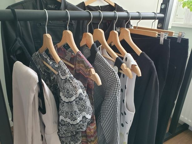 Elegancka paka zestaw ubrań damskich M