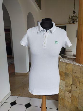 Koszulka Tommy Hilfiger M t-shirt Tommy Hilfiger M biały polówka M