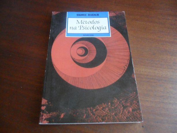 """""""Métodos na Psicologia"""" de Maurice Reuchlin - 1ª Edição de 1989"""