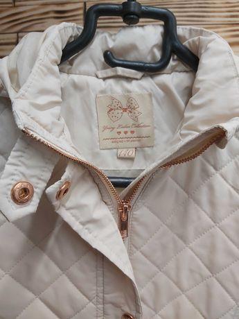 Beżowa kurtka Cool Club 140