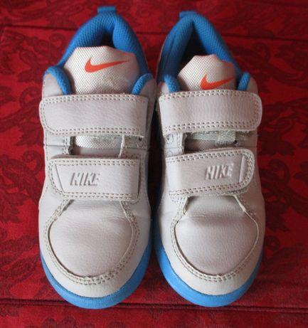 Buty sportowe dziecięce 27,5 cm NIKE skóra jak nowe