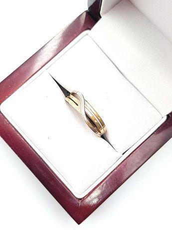 Złoty Pierścionek Pr: 585 Waga: 1,48 G R.17 PLUS LOMBARD