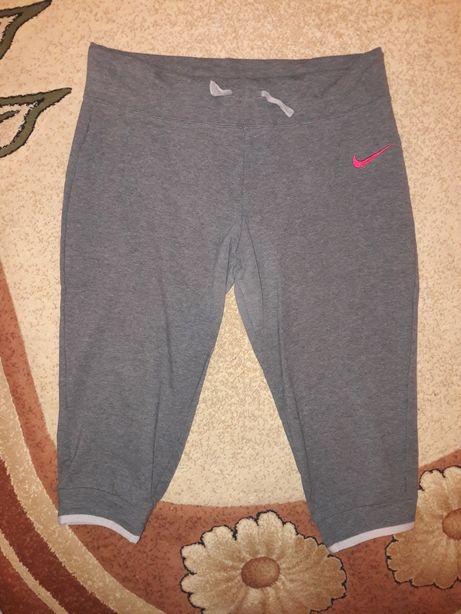 Nike damskie szare spodnie dresowe 3/4