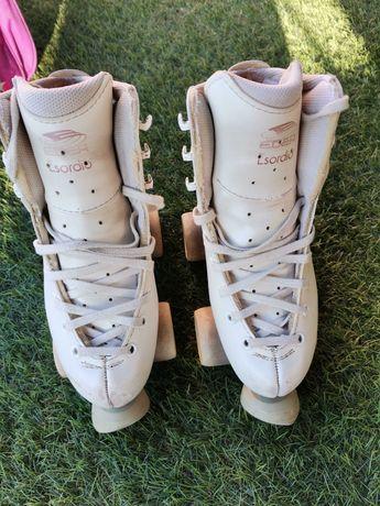 Patins patinagem artística tam33  - oferta do saco