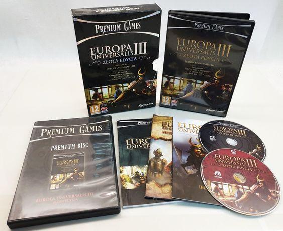 EUROPA UNIVERSALIS III Złota Edycja PC wydanie specjalne wersja PL