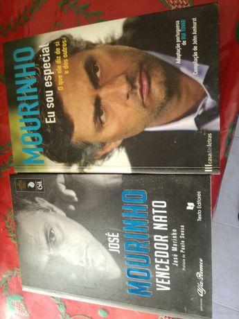 2 livros de um dos melhores treinadores do mundo José Mourinho