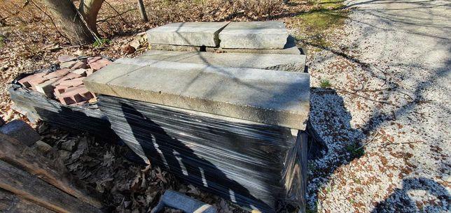 Obrzeże krawężnik betonowy 100x25x8 26szt