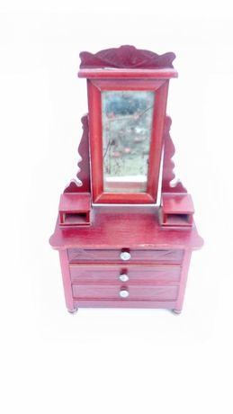Armário, cómoda miniatura madeira brincar colecção bonecas