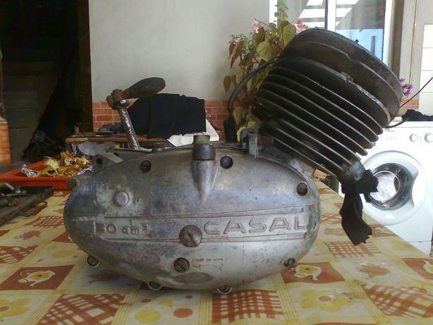 Casal 4 motor cabeça redonda farol g lamas suspensao malas parabrisas