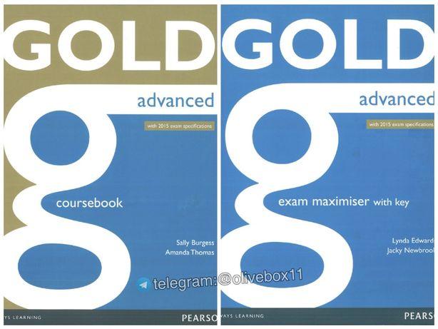 Gold Advanced. Комплект (Учебник + Тетрадь + Аудио) CAE 2015 exam