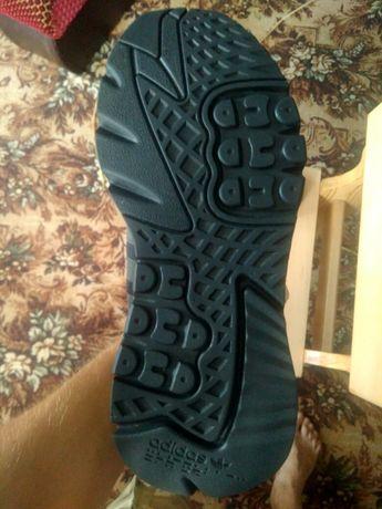 Adidas nite jogger leather black