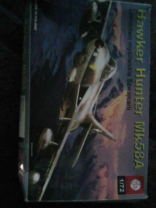 Hawker Hunter Mk58A -model do sklejenia Warszawa - image 1