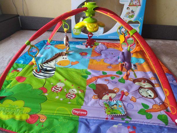 "Дитячий коврик с дугами 5 в 1 Tiny Love ""Цветное сафари"""