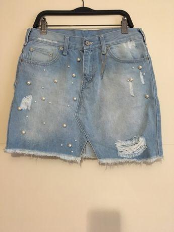 Новая Джинсовая юбка H&M 38/M