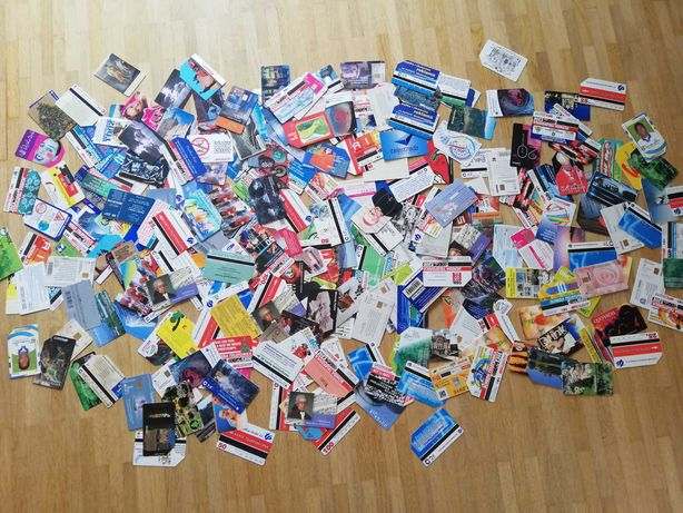 Karty telefoniczne 279 sztuk