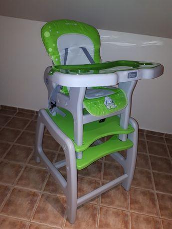 Fotelik dziecięcy dwufunkcyjny