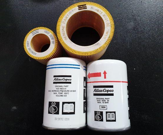 zawór dolotowy zestaw serwis atlas copco części filtry ga vsd gx gn