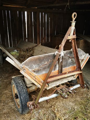 Drewniany   wóz, rolnictwo